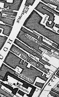 Borough High street - in 1746